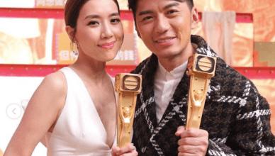 Mandy Wong Benjamin Yuen Malaysian and Singapore TVB Awards Best Actor and Best Actress 2019