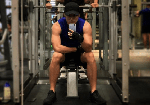 Matthew Ho Excited to Show Off New Muscular Body