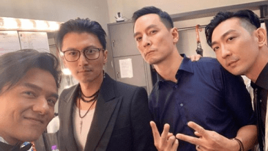 "Daniel Wu Reunites with Miriam Yeung and Cast of ""Gen-X Cops"" at the Hong Kong Film Awards"