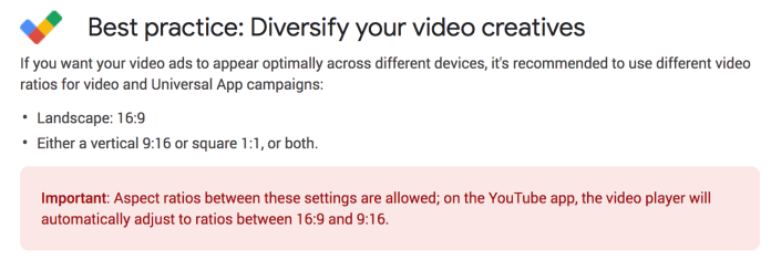 YouTube and UAC creative best practices