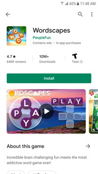 Play Store Listing with Video 1