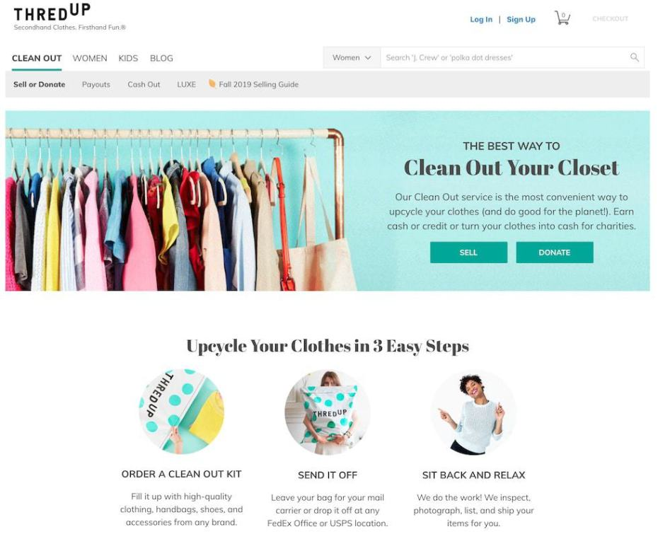 threadUP Review: Is it worth sending in your clothes? thred-up-promo