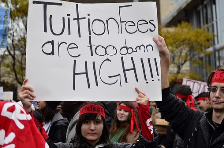 High tuition fees