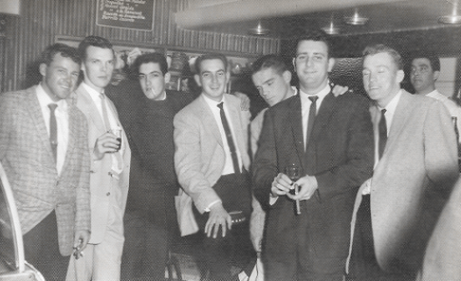 486x297 Ed,Blackburn,RayHughes-almost drunk,'Dot', Pete-stoned,'Yogi',Bob-also stoned #6