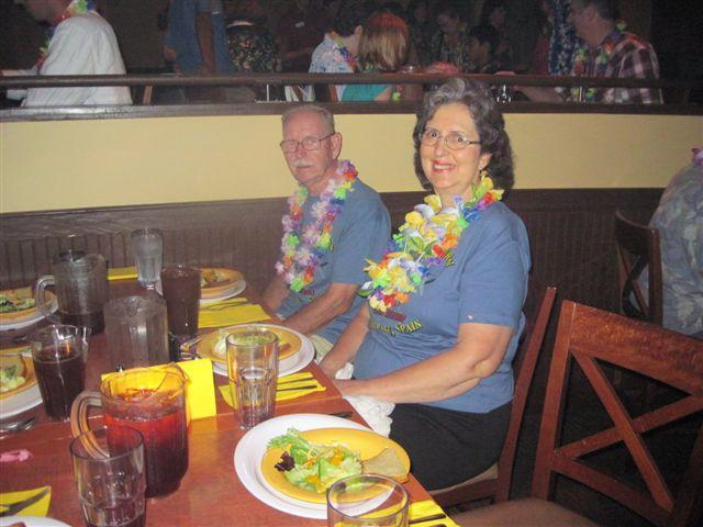 LARRY AND JANICE GAIL SLONE AT SEAWORLD LUAU 2009