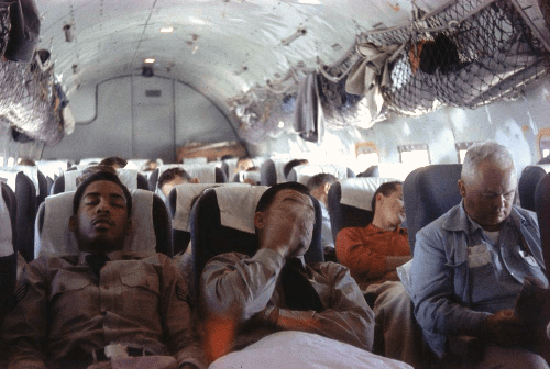 500px Inside aMATS aircraft May 4 1958