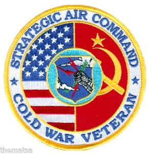 SAC Cold War veteran patch