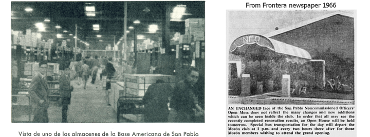 San Pablo newspaper clippings-warehouse, NCO