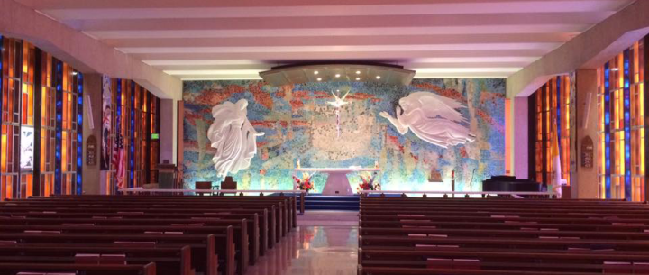 Catholic chapel at AF acad Crop