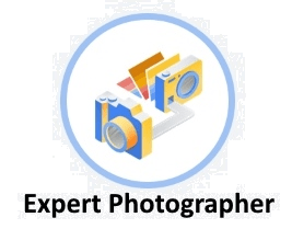Expert Photographer Badge Awarded by Google