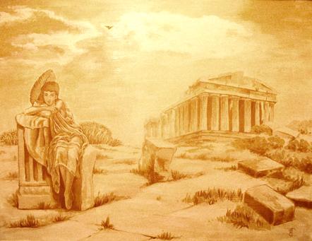 Фреска Антика