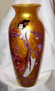 Роспись по керамике.Работа Ирины Куприяновой