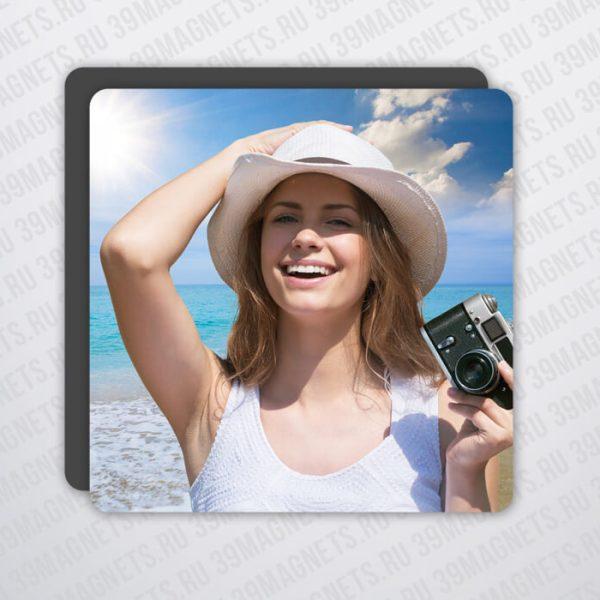 Магнит с вашим фото 7.5*7.5 см.