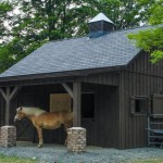 Building A Small Horse Barn Conestoga Buildings