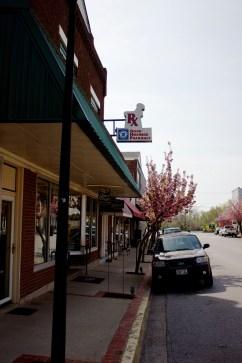 Down town on Main Street 8