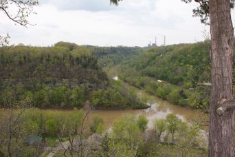 View from Park - Dick's River: Jessamine Creek