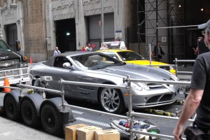 Cars from Sorcerers Apprentice in New York City