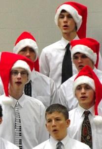 The Santas of the Choir