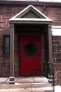 Red Doors in Churches