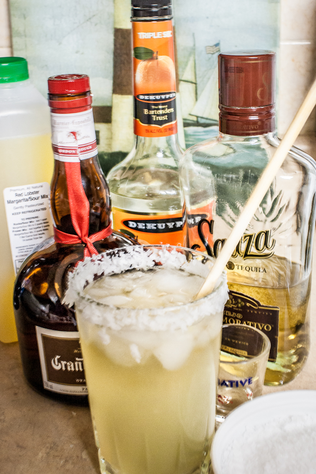 Top Shelf Margarita Recipe from Red Lobster
