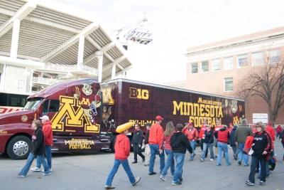 University of Minnesota visits the Huskers in Lincoln Nebraska