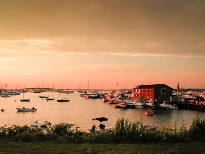 Sunset on Block island, another photography opportunity