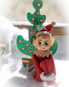 Cute Elf on a Shelf
