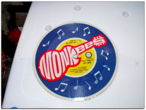 Monkees' record from a Cereal Box