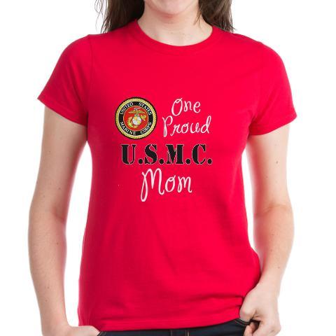 One Proud Marine Mom T-Shirt