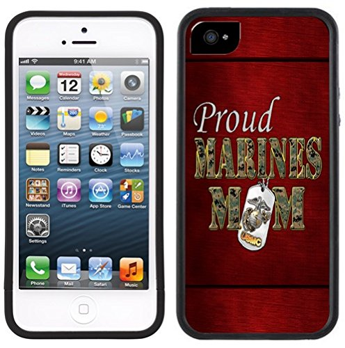 Marine Corps USMC Mom Handmade iPhone 5C Black Case