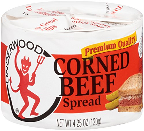 Underwood Corned Beef Spread, 4.25 Ounce (Pack of 12)