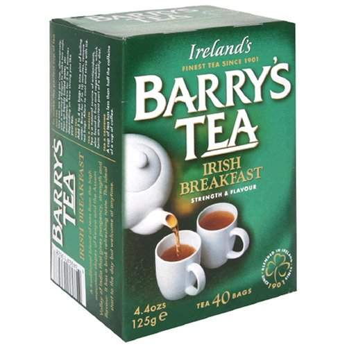 Barry's Tea Irish Breakfast, 80-Tea Bag Boxes (Pack of 6)