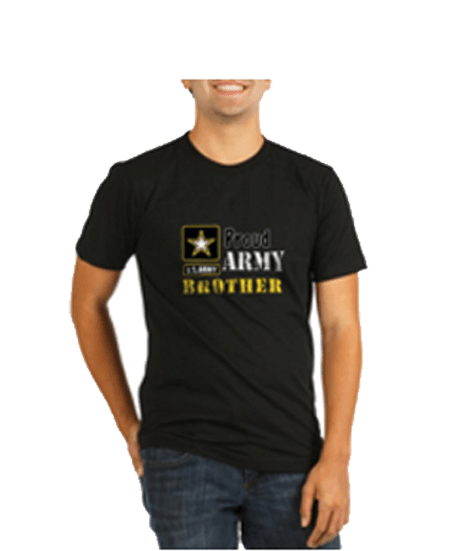 Proud Army Brother tee shirt