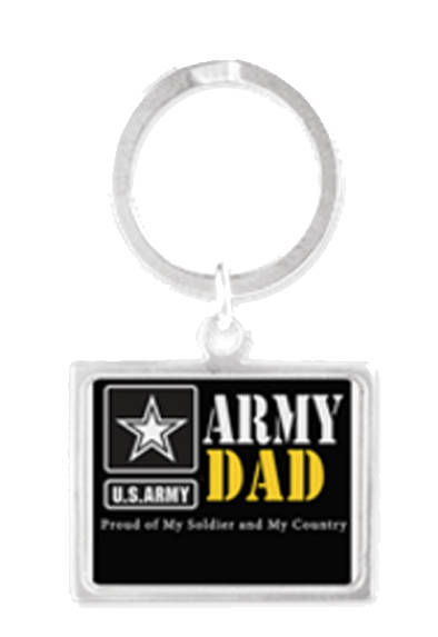 Army Dad Keychain