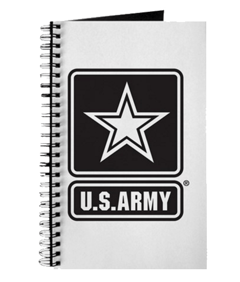 US Army notebooks