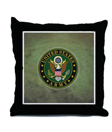 United States Army Seal Pillow