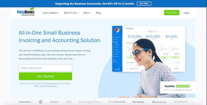 FreshBooks: Best Invoicing Software