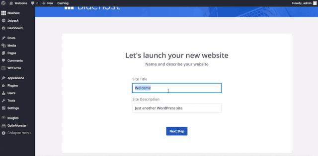 How to Start a Blog - launch your site with wordpress