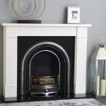 Jubilee And Flat Victorian White Micro Marble Fireplace Cast Fireplaces