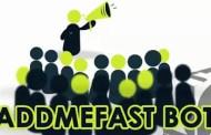 شرح  addmefast 2016 والحصول على 5000 نقطة يوميا  بدون جهد