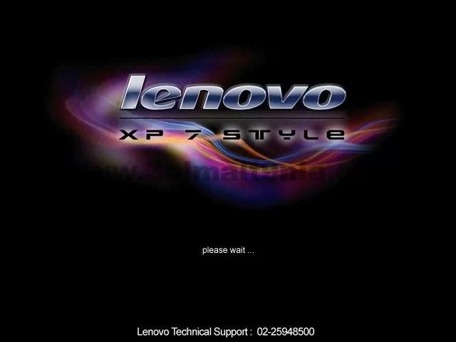 ويندوز Xp معدل Windows Lenovo Xp 7 Style عالم التقنية