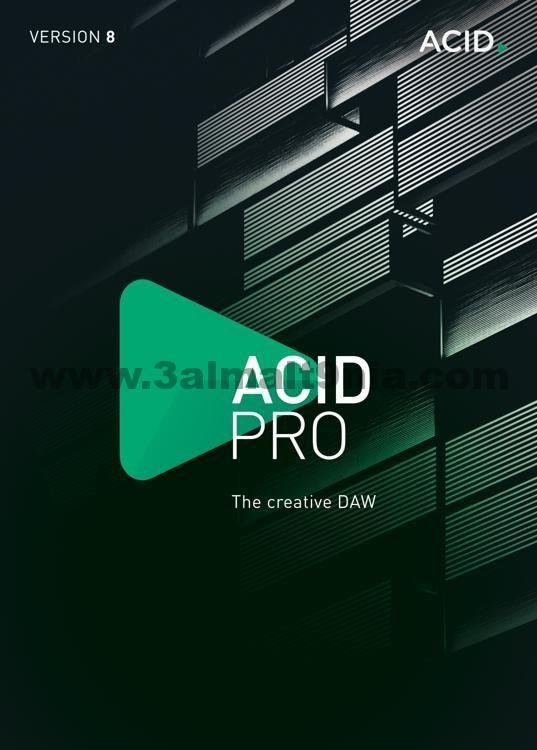 افضل برنامج للتعديل علي الصوت للكمبيوتر Magix Acid كامل مع