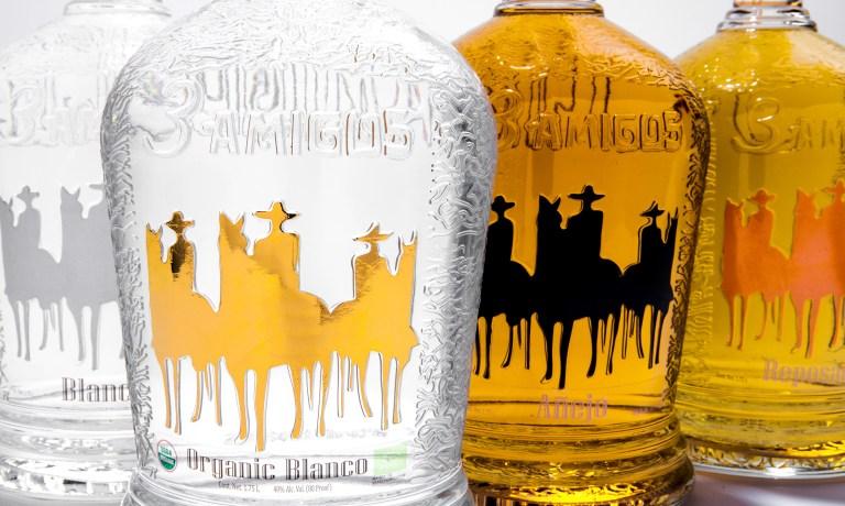 3 Amigos Tequilas closeup