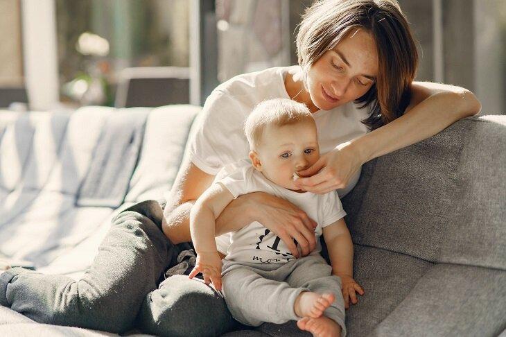 حجم معدة الطفل الشهر التانى