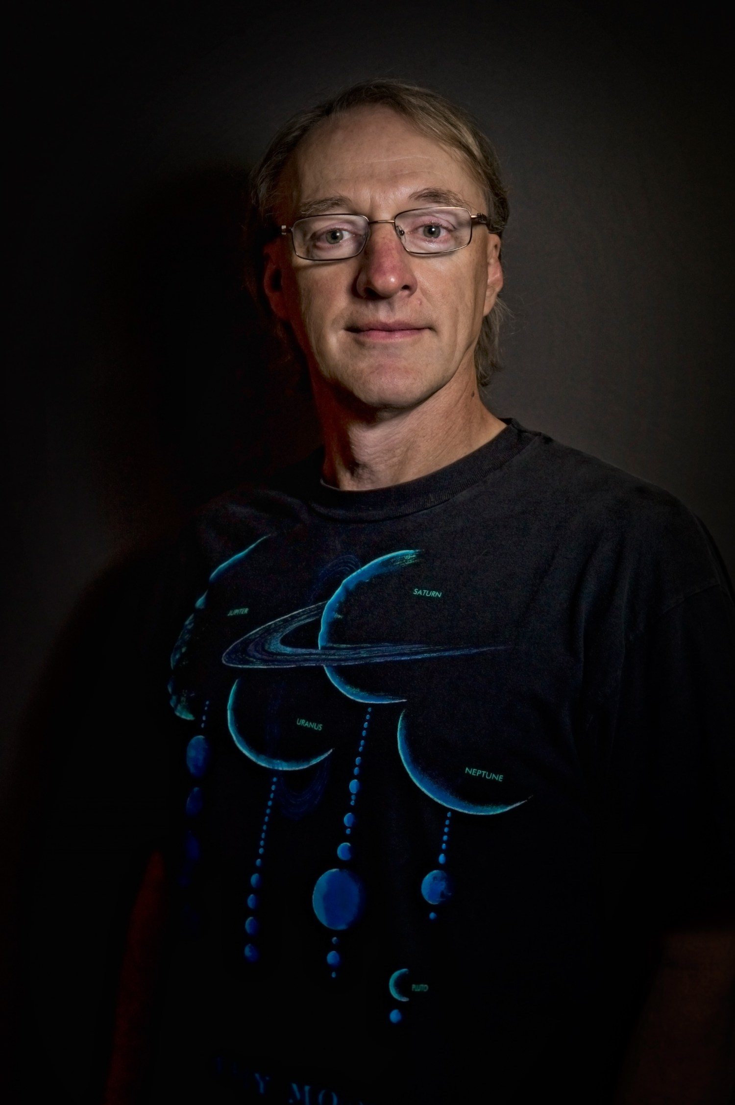 "NASA New Horizons Mission Specialist, Mark ""Indy"" Kochte, Photo Credit: Kyle Cassidy"