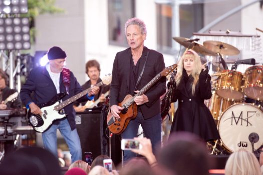 Fleetwood Mac Performs On NBC's 'Today'