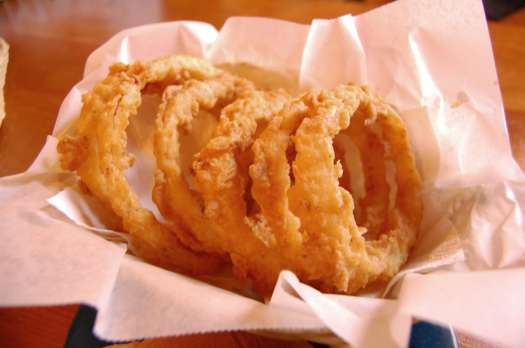 onion rings photo