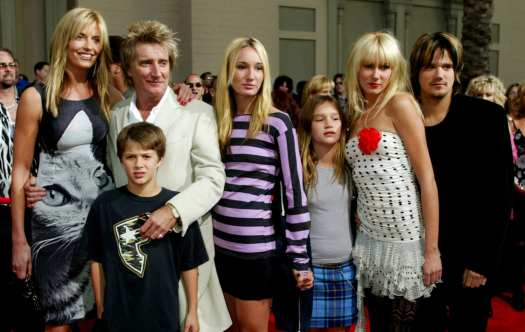 rod stewart kids photo