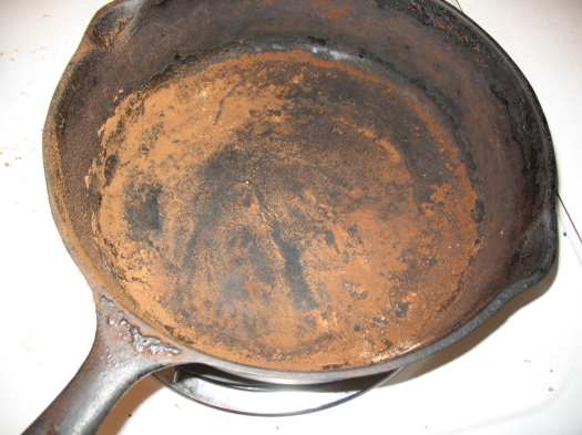 scorched pan photo