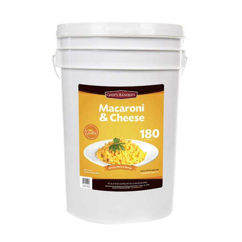 Costco Is Selling A 24 Pound Bucket Of Mac And Cheese That Has A